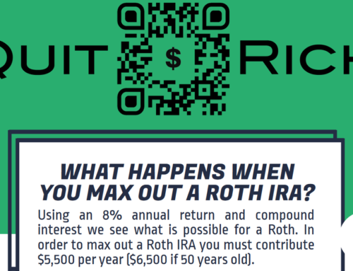 Benefits of maxing out a Roth IRA